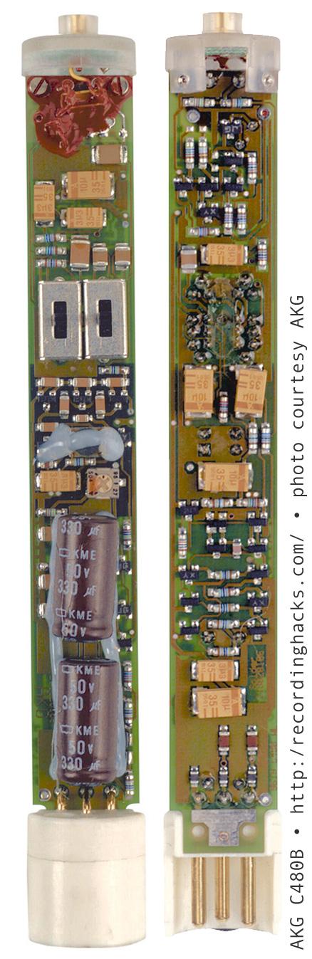 AKG C480B to Neumann KM84 - Done!