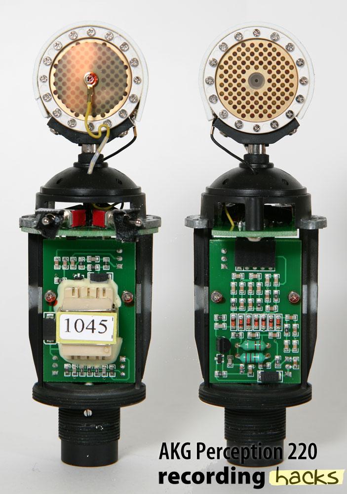 AKG Acoustics Perception 220   RecordingHacks com