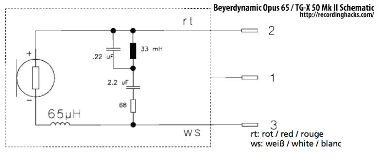 beyerdynamic tg x 50 mk ii recordinghacks com rh recordinghacks com dynamic mic preamp circuit diagram