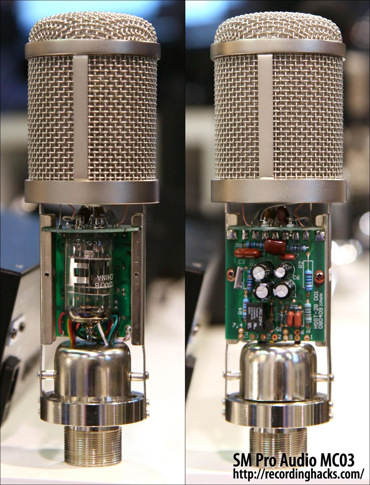 Sm Pro Audio Mc03 Mk 2 Condenser Microphone Circuit Ii And Tube