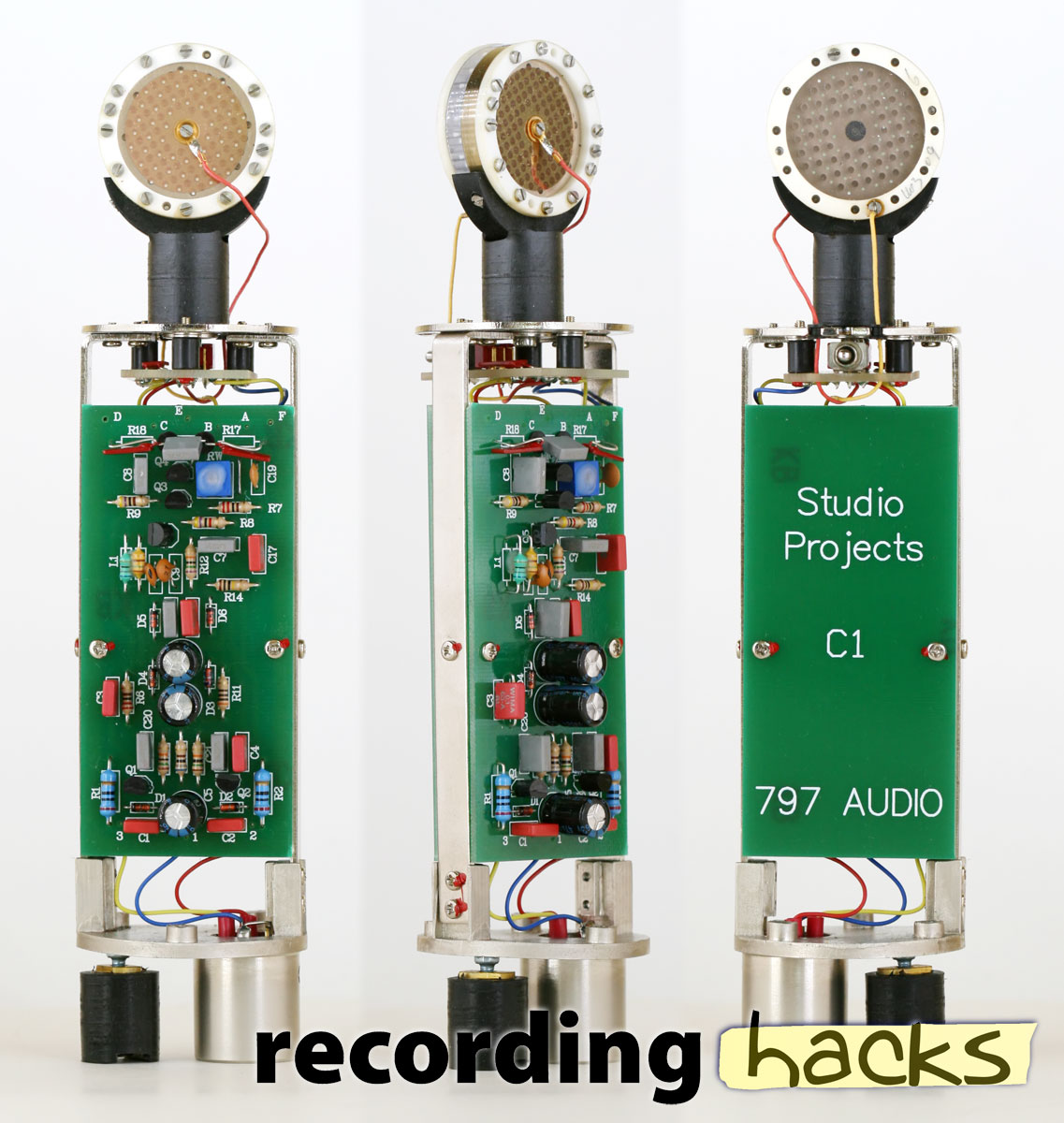 Condenser Microphone Circuit Board Guide And Troubleshooting Of Mic Preamp Diagram Studio Projects C1 797 Recordinghacks Com Rh Amplifier