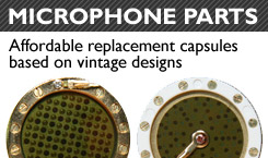 Replacement microphone Capsules