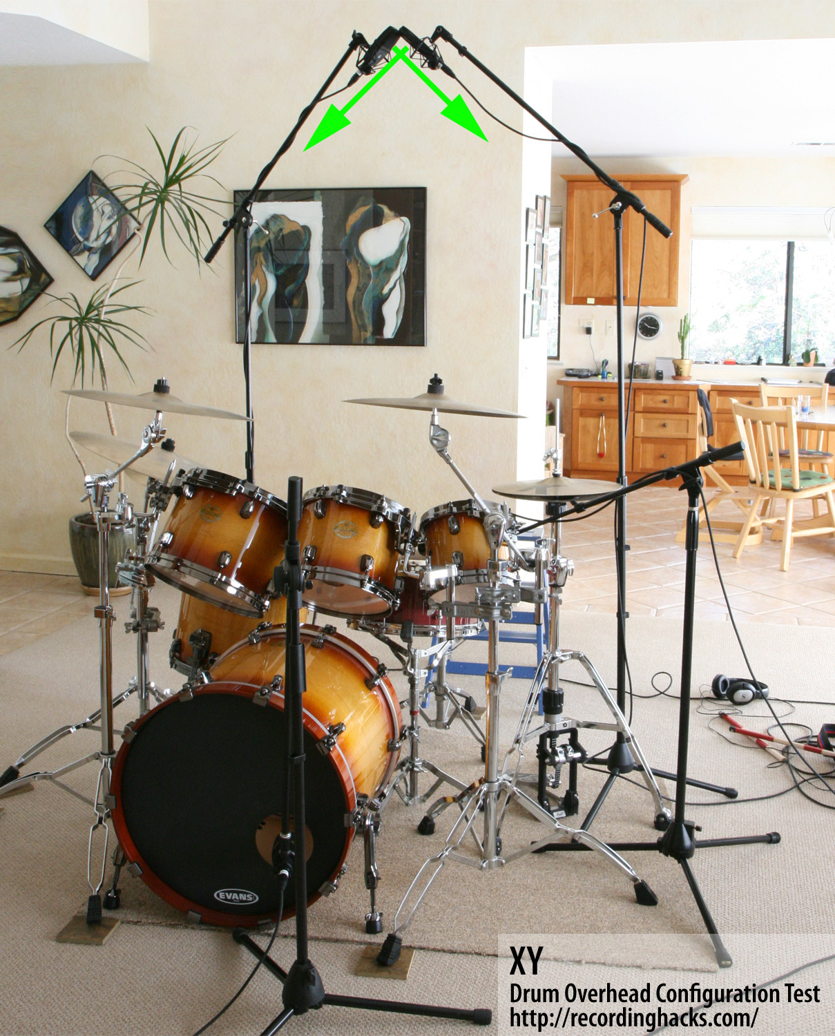 comparing overhead drum miking techniques recording hacks. Black Bedroom Furniture Sets. Home Design Ideas