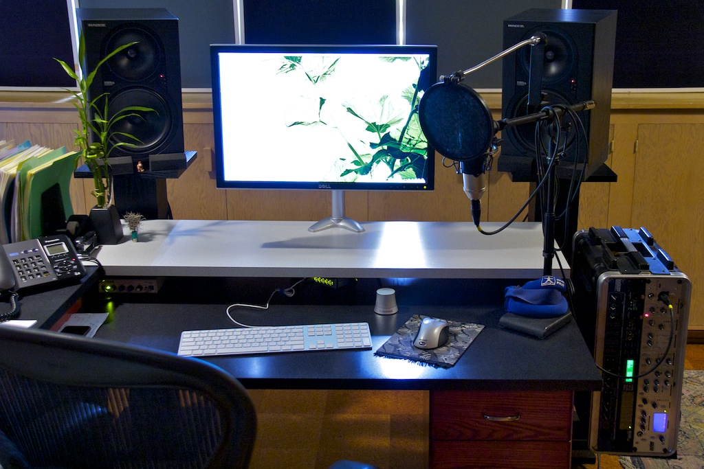 Image Gallery Home Voice Over Studio