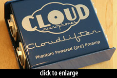 Cloudlifter inline preamp