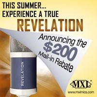 MXL Revelation Rebate