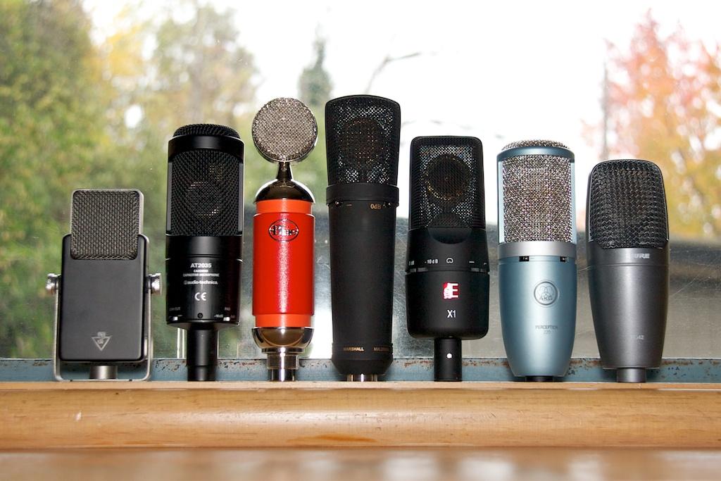 entry level 200 condenser microphone shootout recording hacks. Black Bedroom Furniture Sets. Home Design Ideas