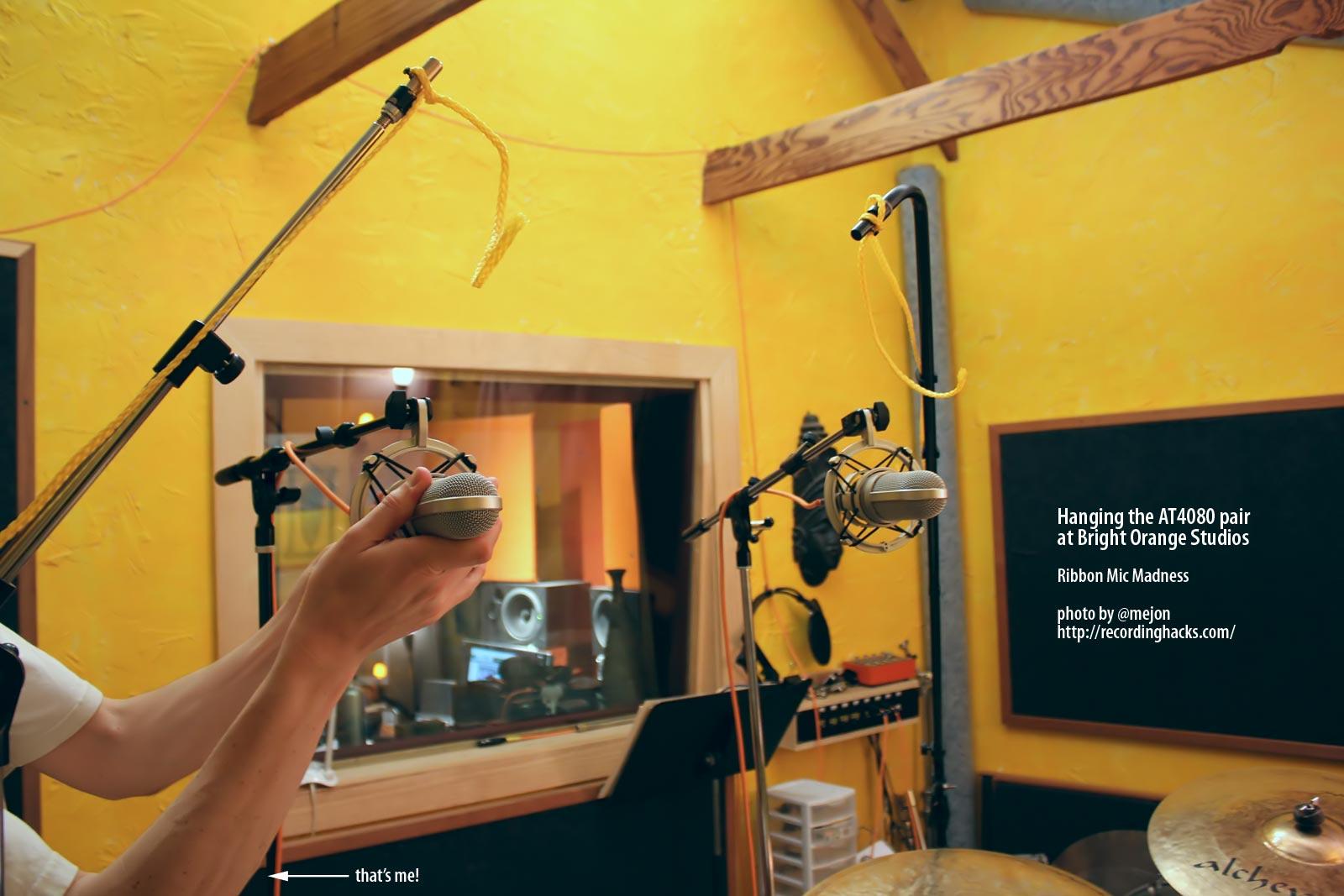 ribbon shootout drum overheads recording hacks. Black Bedroom Furniture Sets. Home Design Ideas