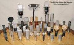 $60,000 Worth of Ribbon Microphones
