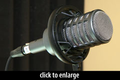 Electro-Voice RE-20, the ultimate podcasting microphone