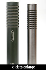 DIYAC RM-5 and Royer R-101 Ribbon Microphones