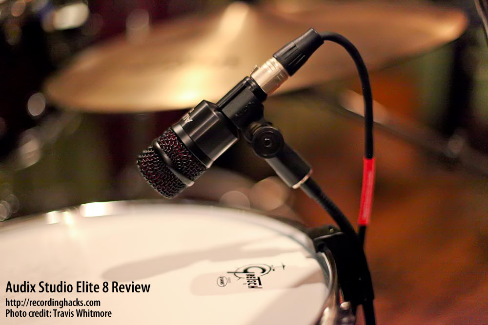 Audix Studio Elite 8 Mic Review I5 D2 D4 D6 Scx25a