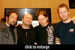 Matt Guillory, Marco Sfogli, Peter Wildoer, Ray Riendeau
