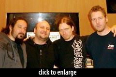 Matt Guillory, Marco Sfogli, Peter Wildoer, Ray Riendeau