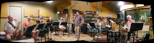 Recording a brass octet
