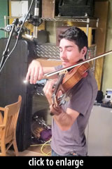 recording violin
