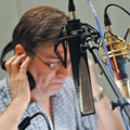 Corey Burton with Ribbon Microphones