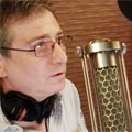 Corey Burton with Cardioid Ribbon Microphones
