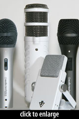 USB Podcasting Microphones