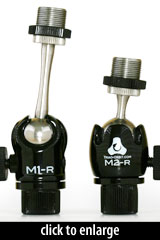 Triad-Orbit Micro1 and Micro2 Mic Adaptors