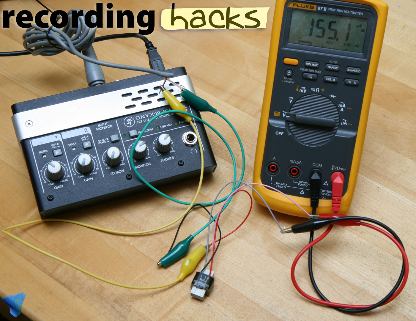 How to measure transformer ratio | recording hacks
