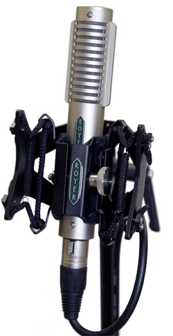 Royer Labs R-121 Ribbon Microphone with Sling-Shock
