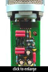 AKG Perception 820 Tube circuit
