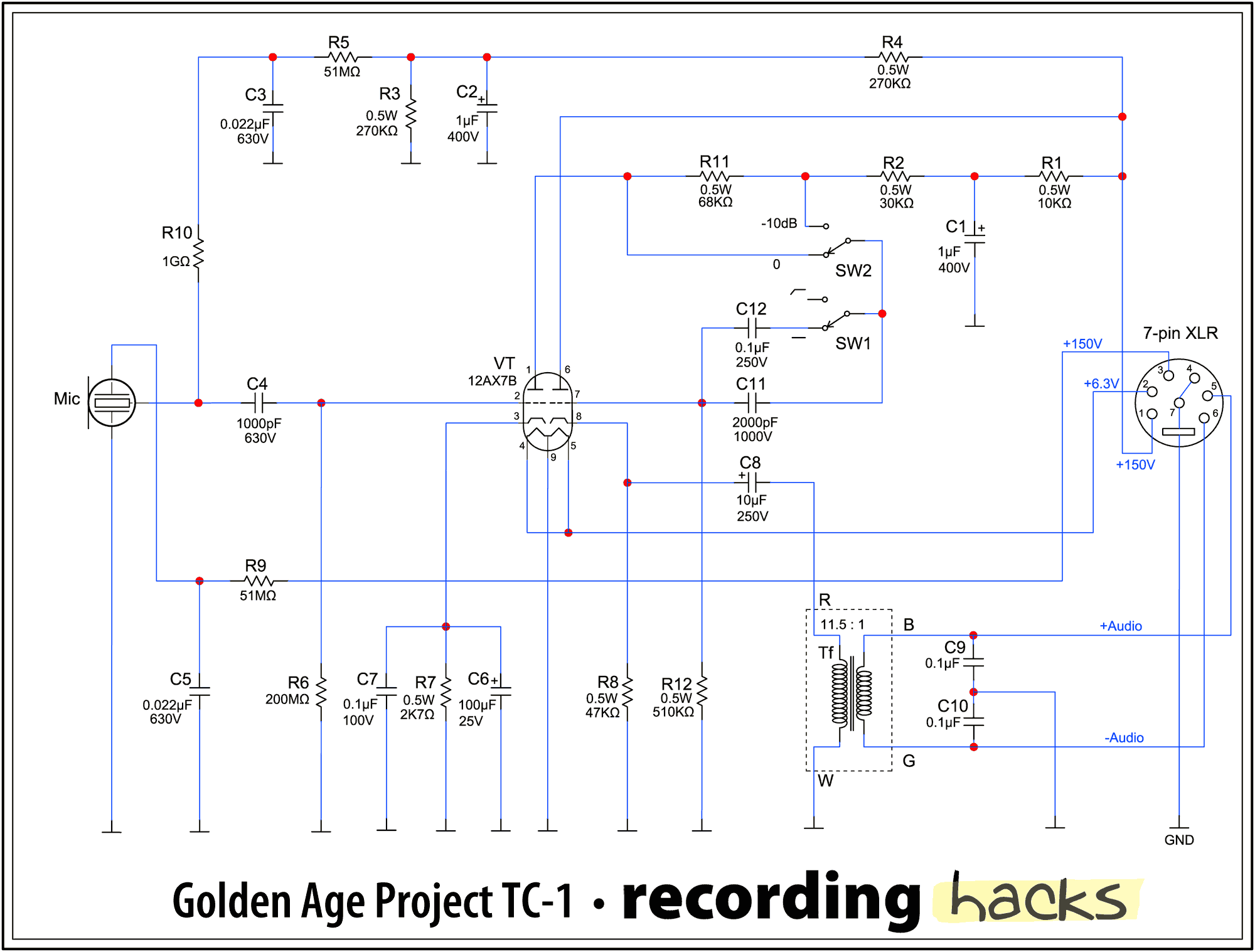 TC 1 besides 1w  Open Hardware 1 Watt Guitar  lifier besides Watch moreover 6P3P Push pull Tube   Circuit additionally Project 4 Sw Tube Receiver. on tube power supply schematic