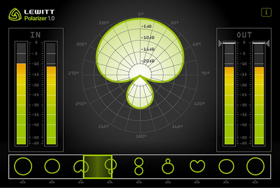 Lewitt Audio Polarizer Plugin