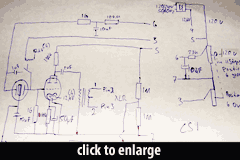 Lucas CS-1 Circuit Schematic from Oliver Archut