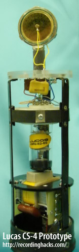 Lucas CS-4 circuit prototype.
