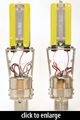 R150 Ribbon Motor, with R140 motor