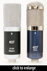 R144 and R150 Ribbon Mics