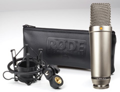 Rode NT1-A with case and mount