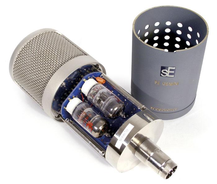 Gemini microphone tubes