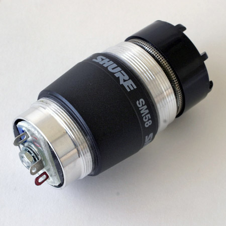 Shure R59 capsule for SM58