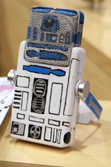 Studio Projects LSM prototype painted as R2-D2