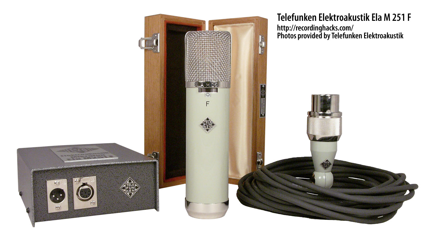 telefunken elektroakustik ela m 251 f. Black Bedroom Furniture Sets. Home Design Ideas