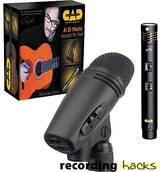 CAD Audio Al DiMeola Acoustic Mic Pack